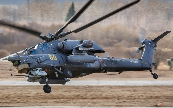 "Russia exported the first Mi-28NE ""Night Hunter"" modern attack helicopter with newest defense system"