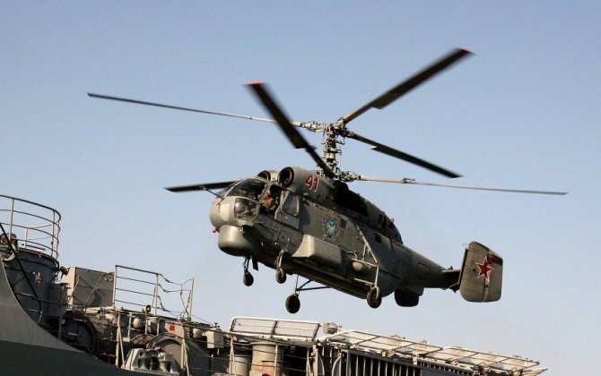 Russia to Create Prototype of Advanced Shipborne Helicopter After 2020