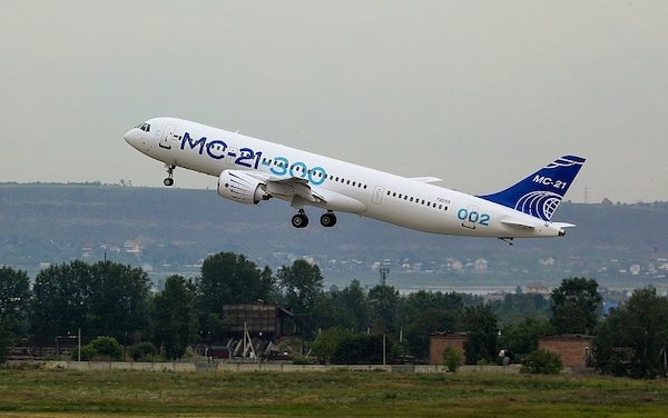 Russia to feature MC-21 new medium-haul airliner at MAKS air show