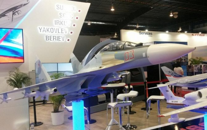 Russia unveils Su-30SME fighter export version at Singapore Airshow