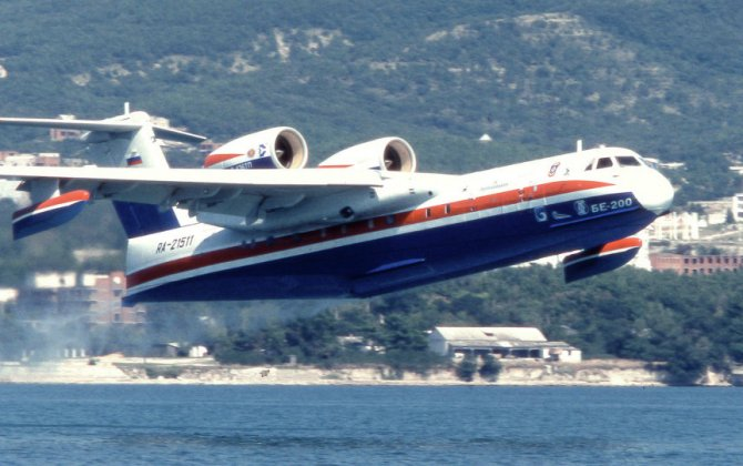 Russian amphibious aircraft stop wildfires from developing to Haifa