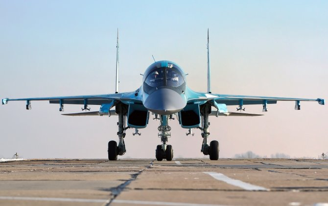 Russian bombers perform flight to stratosphere