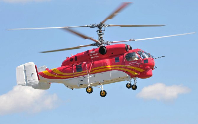 Russian Helicopters delivered five Ka-32A11BC helicopters to China in 2017