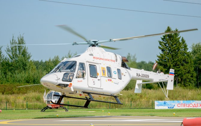 Russian Helicopters delivers 5th medevac Ansat to GTLK