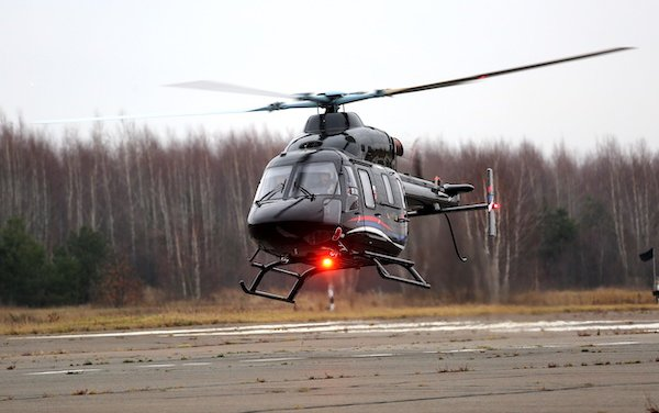 Russian Helicopters delivers first Ansat to a European client