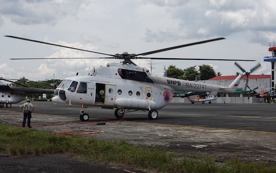 Russian Helicopters launches Mi-8 test operation program in Indonesia