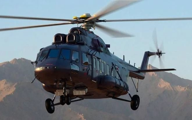 Russian Helicopters Passes Mi-171E Helicopter to Pakistan