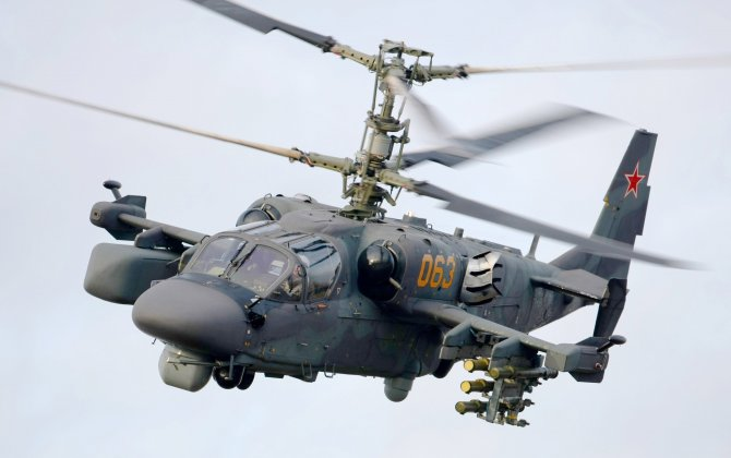 Russian Helicopters produce first Ka-52 Alligator in 2017