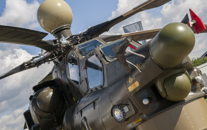 Russian Helicopters showcases upgraded Mi-28NE Night Hunter attack helicopter at Army-2018 forum