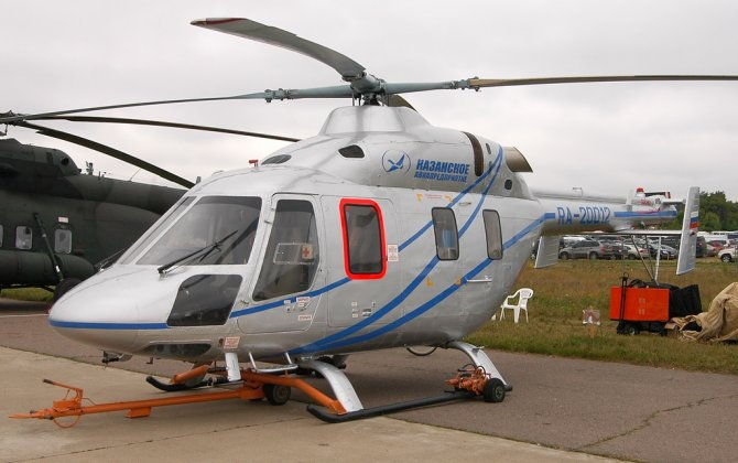 Russian Helicopters signed agreement on supply 3 helicopters to China to be used for Beijing Olympic Games 2022