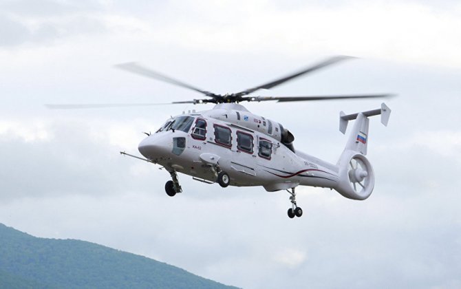 Russian Helicopters to unveil helicopter Ka-62 at 2017 Eastern Economic Forum