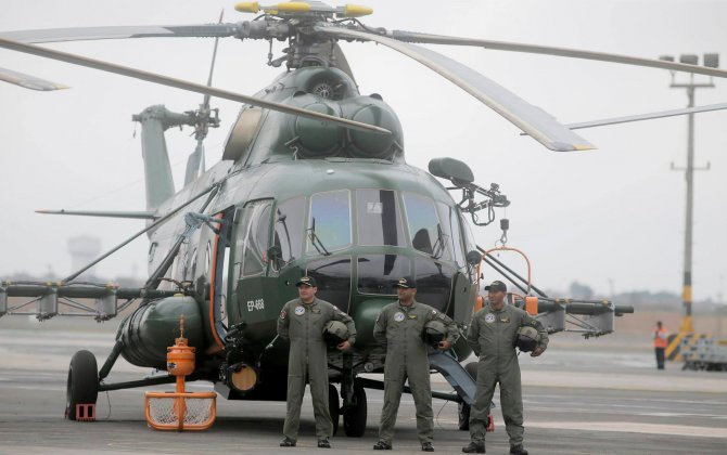 Russian Helicopters win tender to supply aviation inventory for Peruvian Mi-8/17s
