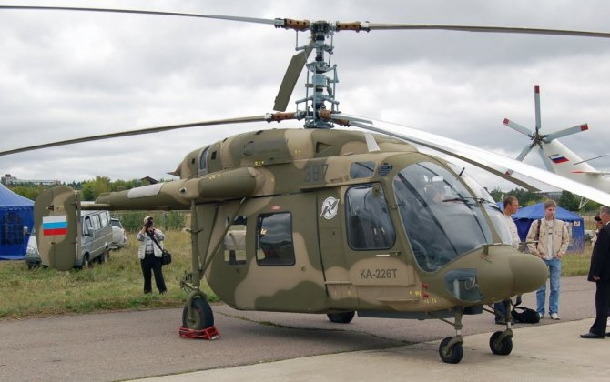 Russian Ka-226T helicopters can be assembled in India for third countries