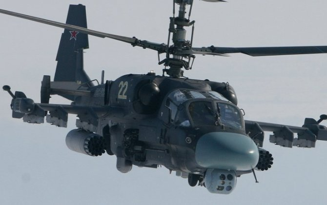 Russian Kamov Ka-52 'Alligator' Sees Combat Debut in Syria