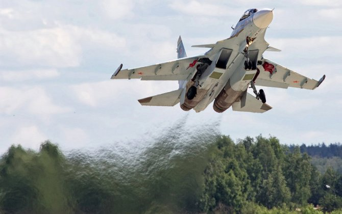Russian Knights aerobatic team reportedly received first Su-30SM fighter jet