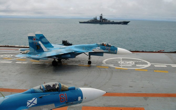 Russian Naval Aviation celebrates 100th anniversary
