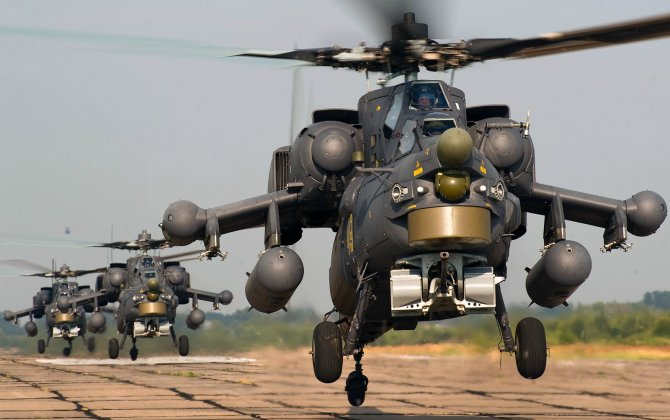 Russian Rosoboronexport To Display Mi-28NE Attack Helicopter At Weapons Show In S Africa