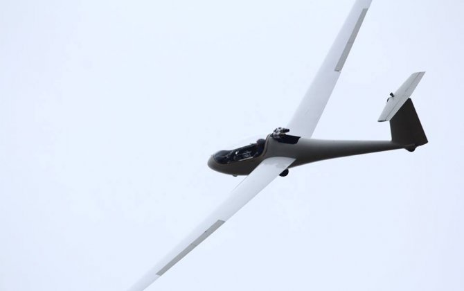 Russia's first self-takeoff glider weighing less than 115 kg began a series of test flights