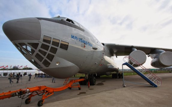 Russia's Il-76MD-M Plane Undergoing Production Flight Tests