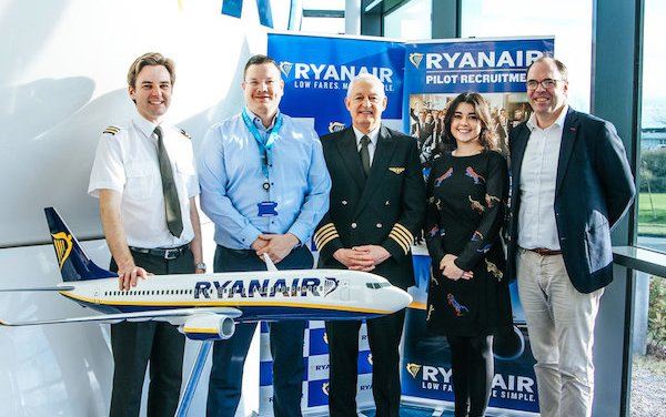 Ryanair Launches New Pilot Training Programme With Sky4U ATO