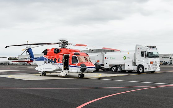 S-92 helicopter completed first flight using biofuel