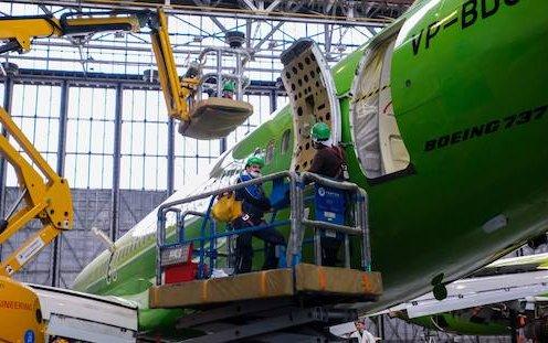 S7 Technics to build an aircraft maintenance center in St. Petersburg
