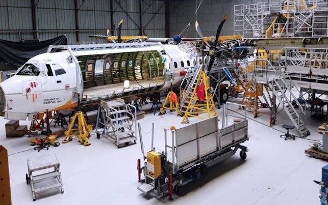 Sabena technics to perform ATR freighter conversion for Cebu Pacific