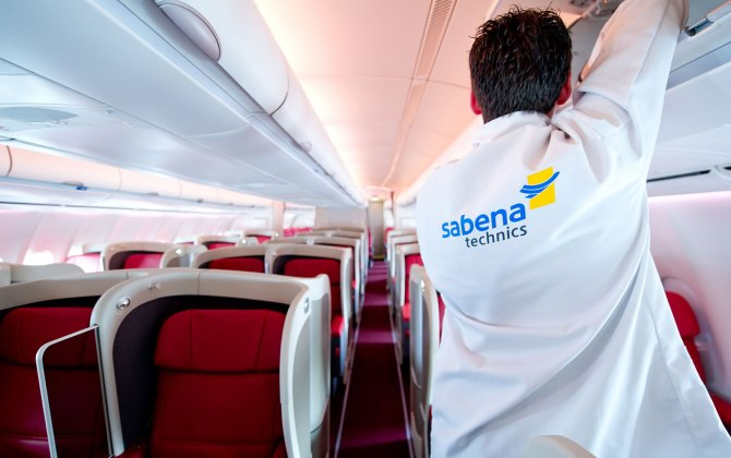 Sabena Technics VIP cabin refurbishment of an A310