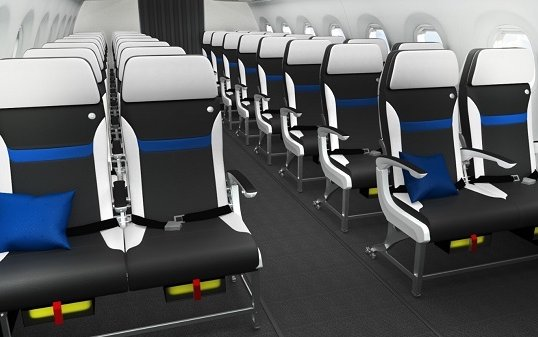 Safran Seats latest economy class seat Z110i certified on Embraer E-JETS