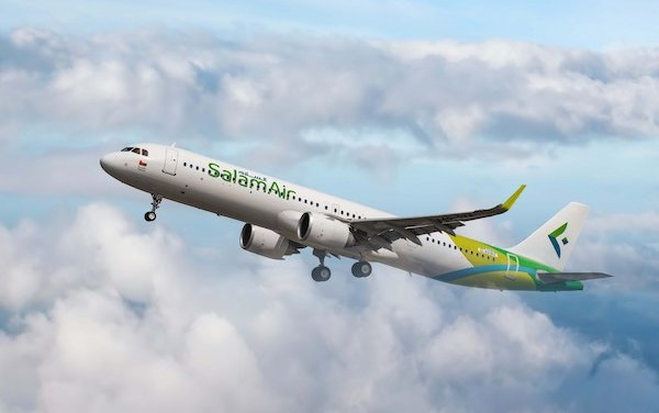 SalamAir takes delivery of the first A321neo aircraft in Oman market