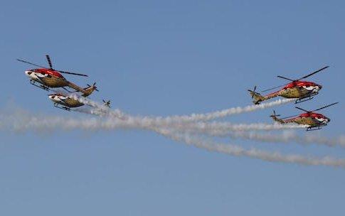 SARANG Aerobatic Team - true icon of MAKE IN INDIA