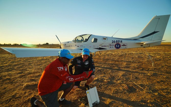 Satcom Direct (SD) supports Outback Aviators' inspirational air race adventure
