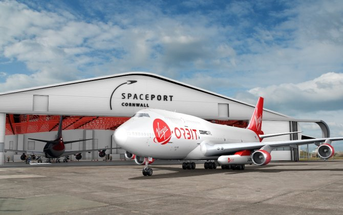 Satellite launches set to return to British soil after 50 years following new partnership with Virgin Orbit in Cornwall