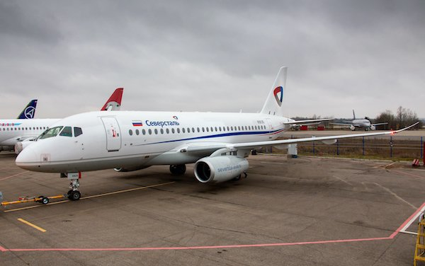SCAC has obtained Major Change Approval for SSJ100 with horizontal winglets