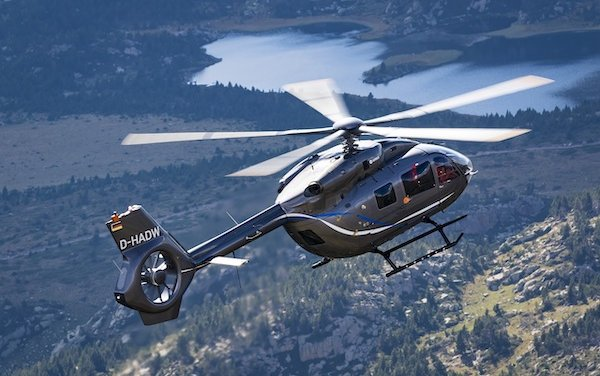 Second Airbus five bladed H145 to join WA Police Force