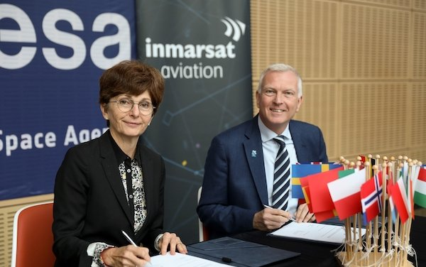 Second phase of Iris air traffic modernisation programme with Inmarsat