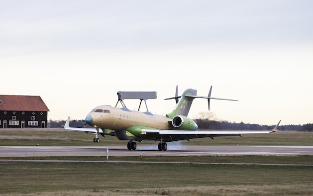 Second Saab GlobalEye Takes to the Sky