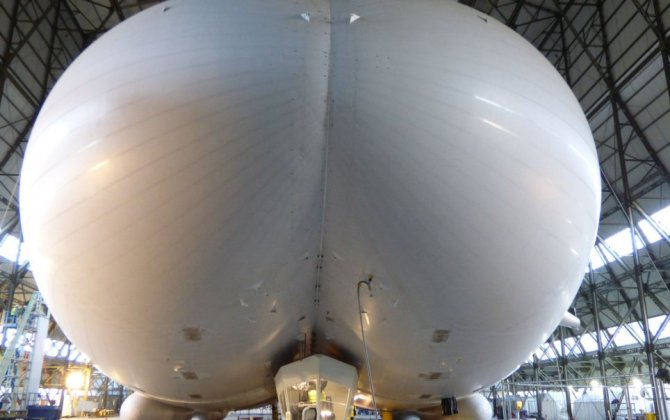 See the world's largest aircraft