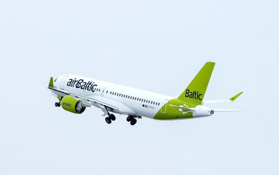 Self-isolation rules - airBaltic carried less passengers in August