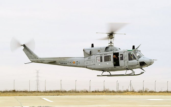SENER Delivers the First Helicopter to the Spanish Navy of the AB212 Life Extension Program