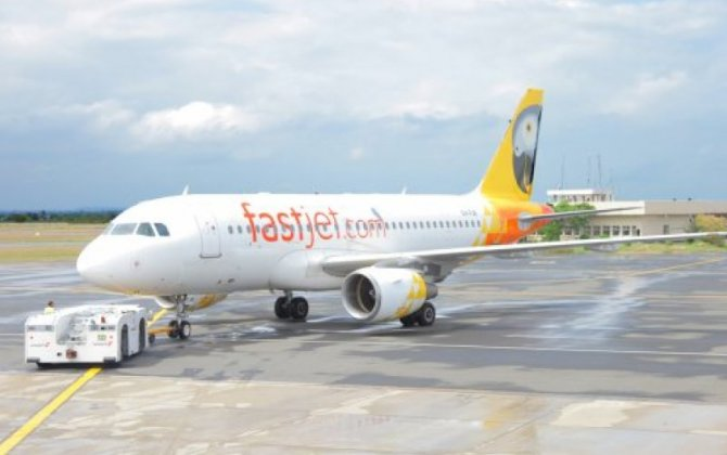 Shares in African budget airline Fastjet drop almost 11 per cent