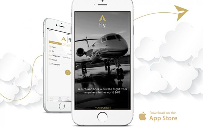 "SHY Aviation launches ""fly"" app"