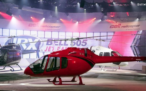 Signature S.R.L. in Paraguay signs for Bell 505 Jet Ranger X