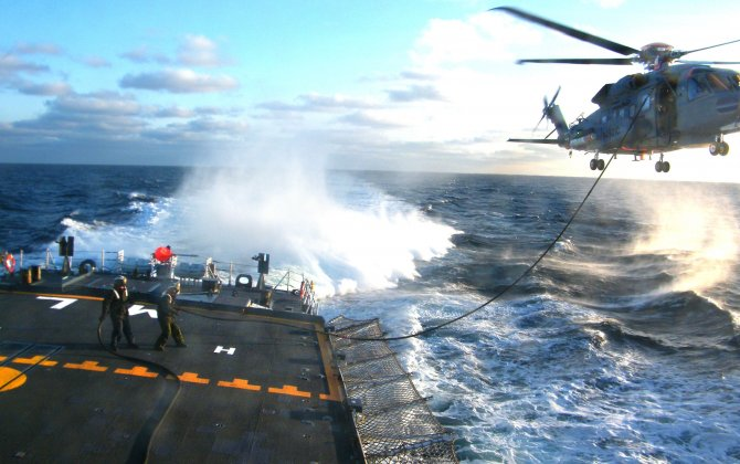 Sikorsky and Canada's DND Receive AHS International Award for Successful CH-148 Cyclone Helicopter Shipboard Tests