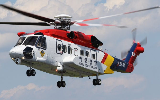 Sikorsky Delivers Second S-92® Helicopter to South Korea Coast Guard