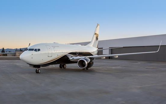 Silver Air Boeing Business Jet is available for global charter now