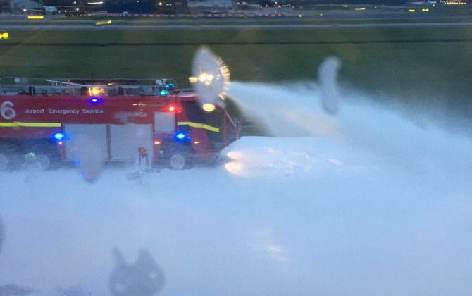 Singapore Airlines plane catches fire while making emergency landing