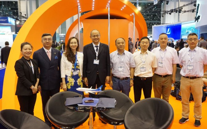 Sino Jet Announces Collaboration with Chengdu Shuangliu International Airport Air Ground Services Ltd. at EBACE2018