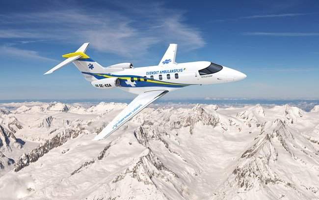 Six Pilatus PC-24s for Swedish Air Ambulance