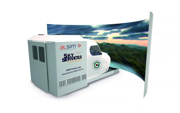 Sky Services Flight Academy becomes proud owner of an ALSIM ALX simulator